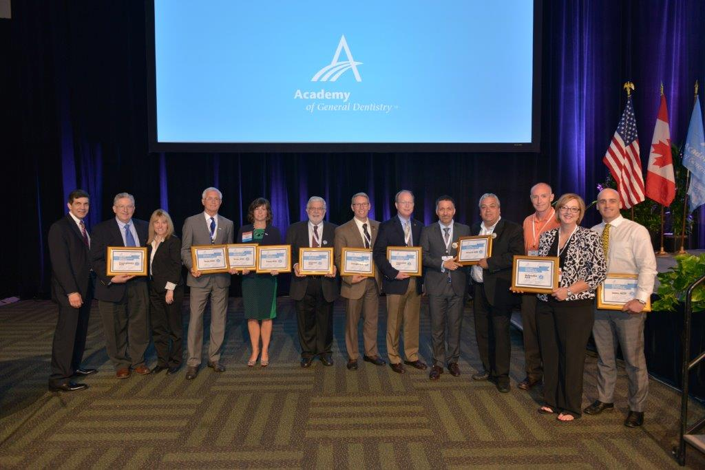 Award winners at 2015 AGD Meeting in San Fran